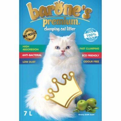Barone′s - Barone\'s Premium Yeşil Elma Kokulu Bentonit Kum 7LT