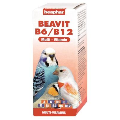 Beaphar - Beaphar Beavita Kuş Vitamini 50 ml