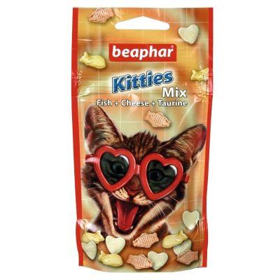 Beaphar - Beaphar Kitties Mıx Vitaminli Yavru Kedi Tableti 50 Adet