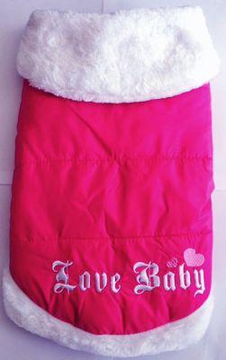 Bobo - BOBO KÖPEK GİYSİSİ PEMBE LOVE BABY