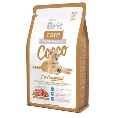 Brit Care - Brit Care Ördek Somon, Patatesli Tahılsız Hassas Kedi Maması 2 KG