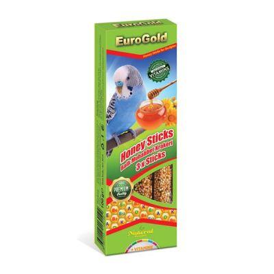- EuroGold Ballı Muhabbet Kuşu Krakeri 3 lü 100 Gr