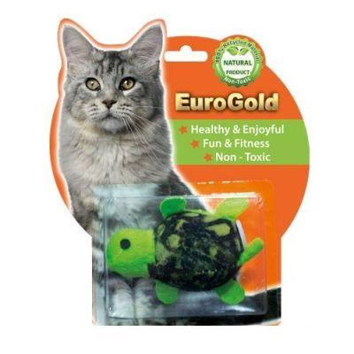 Diğer - Eurogold Kurmalı Hareketli Kamplubağa Kedi Oyuncağı