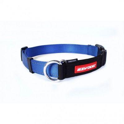 EzyDog - Ezydog Check Mate Köpek Boyun Tasması L Mavi
