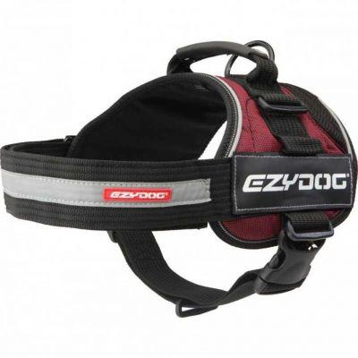 EzyDog - EzyDog Convert Harness Modern Köpek Göğüs Tasması Bordo X Large