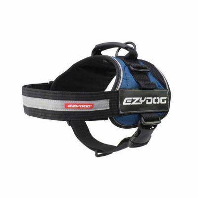 EzyDog - EzyDog Convert Harness Modern Köpek Göğüs Tasması Mavi Large
