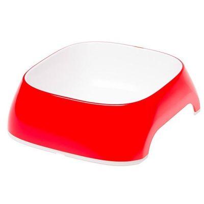 Ferplast - Ferplast Glam Medium Melamin Mama Kabı Kırmızı 720 Ml
