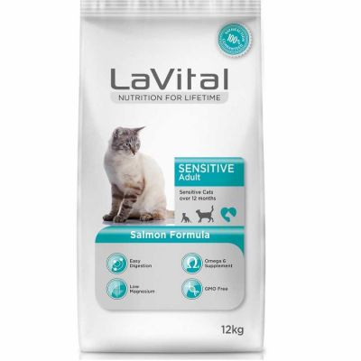 La Vital - La Vital Sensitive Hassas Kedi Maması 12 KG