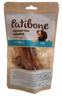 Diğer - Patibone Çiğnenebilen Sinir Köpek Ödülü 100 GR