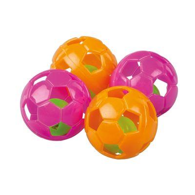 Diğer - Plastik Top Kedi Oyuncağı 4 cm