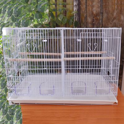 QH PET CAGE - Qh Pet Cage Çifthane Üretim Kafesi 61 x 40 x 42 cm