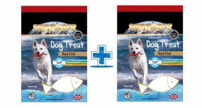 Sapphere - Sapphere Kırlangıç Balıklı Köpek Ödülü 70 Gr (1 Alana 1 Bedava )