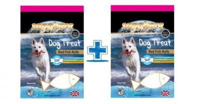 Sapphere - Sapphere Red Fish Rolls Kırlangıç Balıklı Köpek Ödülü 70 Gr (1 Al