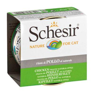 Schesir - Schesir Tavuk Fileto Soslu Kedi Konservesi 85 Gr
