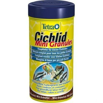 - Tetra Cichlid Mini Granules 250 ML