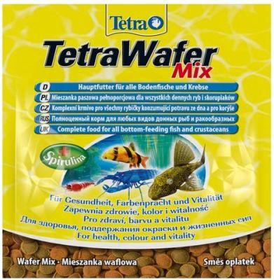 Tetra - Tetra Wafer Mix Dip Balık Yemi 15 Gr