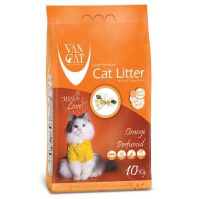 Diğer - Vancat Portakal Kokulu İnce Taneli Kedi Kumu 10 Kg