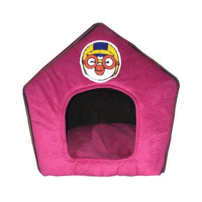 Allfi Pet - Allfi Pet Kumaş Kedi Evi Pembe