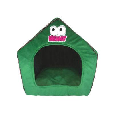 Allfi Pet - Allfi Pet Kumaş Köpek Evi Yeşil