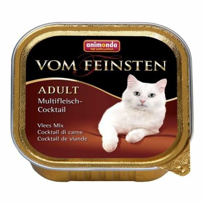 Animonda - Animonda Vom Feinsten Karışık Etli Yetişkin Kedi Konservesi 100GR