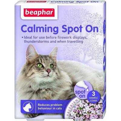 Beaphar - Beaphar Calming Spot On Kedi Sakinleştirici Damla 0,4 ml 3 Adet