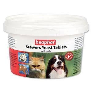 Beaphar - Beaphar Kedi-Köpekler için Brewers Yeast Sarımsaklı Tablet 250 Adet