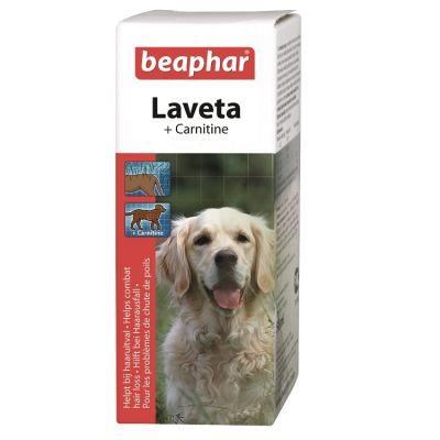 Beaphar - Beaphar Laveta Carnitine Köpekler için Tüy Vitamini 50 Ml