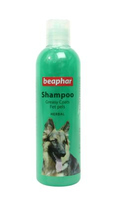 Beaphar - Beaphar Yağlı Ciltli Köpekler İçin Bitki Özlü Şampuan 250 ml