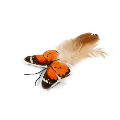 Beeztees - Beeztees Kelebek Kedi Oyuncağı 8 Cm