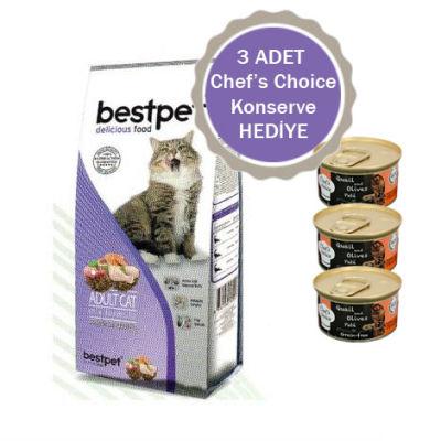 Best Pet - BestPet Karışık Etli Kuru Kedi Maması 15 KG