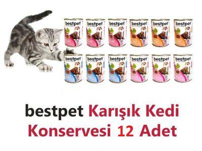 Best Pet - Bestpet Karma Koli Kedi Konservesi 12 X 415