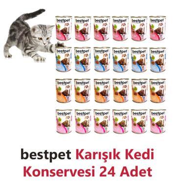 Best Pet - Bestpet Karma Koli Kedi Konservesi 24 X 415 Gr