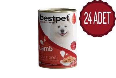 Best Pet - BestPet Kuzu Etli Köpek Konservesi 400 Gr x 24