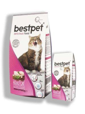 Best Pet - Bestpet Selection Tavuklu Yetişkin Kedi Maması 15 KG
