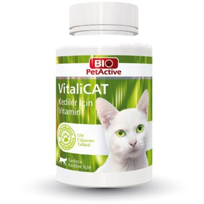 Bio Petactive - Bio PetActive Vitalicat Kediler İçin Multivitamin Tablet 150 adet