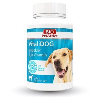 Bio Petactive - Bio PetActive Vitalidog Köpekler İçin Multivitamin Tablet 150 adet