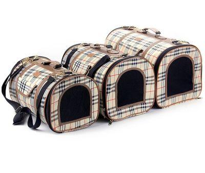 Bobo - Bobo Kumaş Kedi Köpek Taşıma Çantası Large 29x45x29 cm
