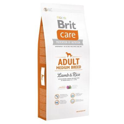 Brit Care - Brit Care HypoAllergenic Orta Irk Kuzulu Yetişkin Köpek Maması 3KG