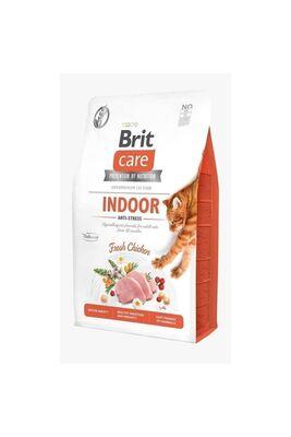 Brit Care - Brit Care Indoor Hypo-Allergenic Stres Azaltıcı Tahılsız Yetişkin Kedi Maması 2kg