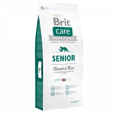Brit Care - Brit Care Kuzulu Pirinçli Yaşlı Kuru Köpek Maması 12 Kg