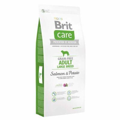 Brit Care - Brit Care Somonlu Tahılsız Yetişkin Büyük Irk Köpek Maması 3 Kg