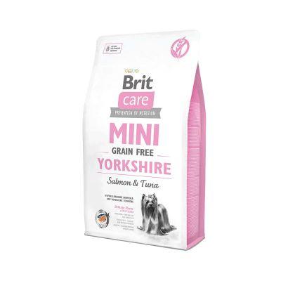Brit Care - Brit Care Tahılsız Mini Yorkshire Somonlu Köpek Maması 2 kg