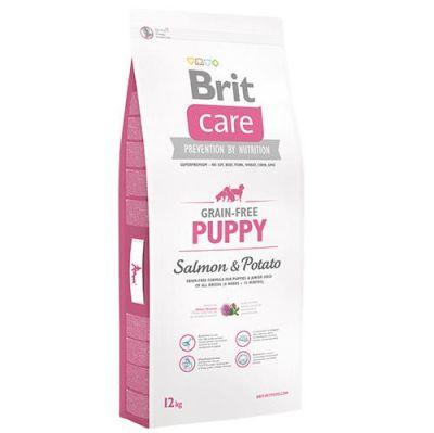 Brit Care - Brit Care Tahılsız Somonlu Patatesli Yavru Köpek Maması 12 KG