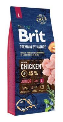 Brit Care - Brit Premium By Nature Tahılsız Tavuklu Büyük Irk Yavru Köpek Maması 15 KG