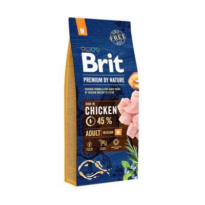 Brit Care - Brit Premium By Nature Tahılsız Tavuklu Yetişkin Köpek Maması 15 KG