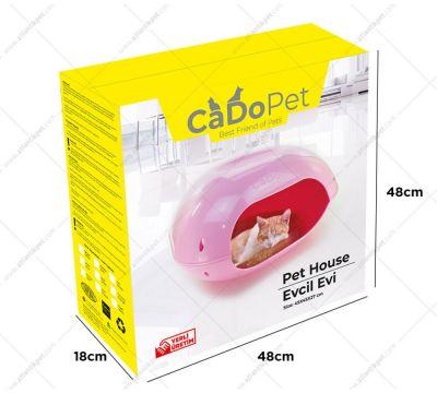 CaDo Pet - CaDo Pet Kedi Evi Kırmızı