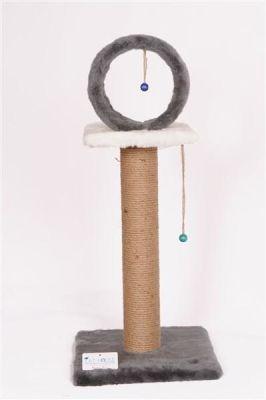 Diğer - Cat House Çemberli Tırmalama 78 Cm Benekli
