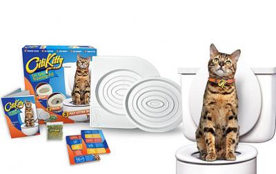 Citi Kitty - Citi Kitty Kedi Tuvalet Eğitim Alıştırma Seti