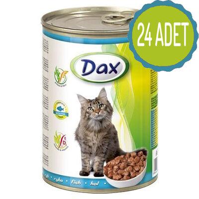 Dax - Dax Balıklı Kedi Konservesi 415 Gr x 24