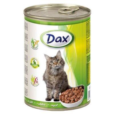 Dax - Dax Tavşanlı Kedi Konservesi 415 Gr